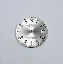 """Quadrante silver per Rolex modello """"Datejust"""" mm31 ref. 75240"""