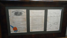 Antique 1881 Frank Rosseau Original Patent for Oil Cup for Saws HAND SAW OILER