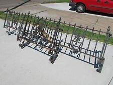 Antique Wrought Iron Window Boxes~30's Bungalow~8.5'&3'~Grilles~Salvage~Security