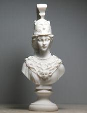 Athena Minerva Bust Greek Roman Goddess Statue Handmade Sculpture Head 7.8΄΄
