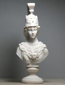 "12/""H Athena Greek Goddess Bronzed Statue Sculpture Minerva by Pacific Giftware"