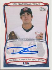 Daniel Camarena 2010 Topps USA National Team autograph auto card A-7