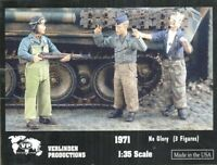 Verlinden Productions 1:35 No Glory - Three Resin Figures Kit #1971