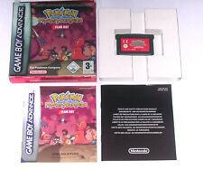 """Spiel: POKEMON MYSTERY DUNGEON TEAM ROT """" KOMPLETT OVP für Gameboy Advance + SP"""