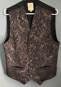 Wah Maker Paisley Vest. Size M.