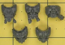 Warhammer 40K Space Marines Blood Angels Death Company Torso Fronts