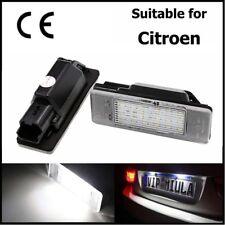Citroen Berlingo C2 C3 C4 C5 C6 C8 DS3 Jumpy LED Licence Number Plate Light