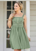 Matilda Jane Joanna Gaines Grass Roots Dress Womens Size L  Large New In Bag