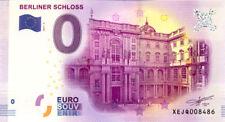 ALLEMAGNE Berlin, Berliner Schloss 4, 2017, Billet 0 € Souvenir