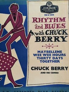 Chuck Berry,R&B with Chuck,EP,Round Centre,EX/VG,London,Rock n Roll