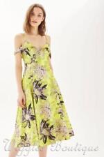 Prom Floral Dresses Midi