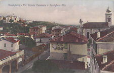 Via Vittorio Emanuele BORDIGHERA Imperia Liguria Italia Cartolina Postale