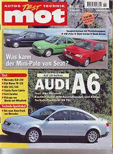 mot 11/97 Pickup: Mitsubishi L 200 2.5 TD/Mazda B 2500/Ford F 150/Audi A6/1997