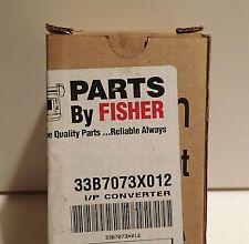 FISHER CONTROLS 33B7073X012 I/P Converter NIB