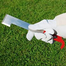 Beekeepers J-Type Hive Tool - Stainless Steel With Red Coating
