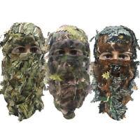 3D Full Face Mask Hat Camouflage Balaclava Headgear Camo Head Gear Cap Outdoor