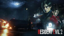 "114 Resident Evil - 2019 1 2 3 4 5 Biohazard Zombie TV Game 24""x14"" Poster"
