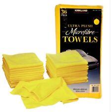 36Pcs Microfiber Kirkland Signature Ultra High Pile Premium Microfiber Towels