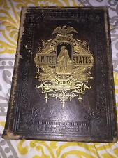 History Of The United States Henry Watson J. Harris Patton Antique Leather 1880