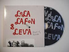 LOLA LAFON & LEVA : PAINT IT, BLACK ♦ CD SINGLE PORT GRATUIT ♦