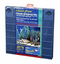 Premium Under Gravel Filter System - for 20 Gallon Fish Tanks & Aquariums