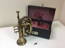 Bossens & Co Boosey Cornet / Bugle In Box
