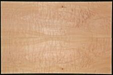 """Quilted Maple Bookmatched Tonewood Set - 1/8"""" Guitar Top - #117"""