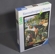 New Sealed Ravensburger Paul Cezanne 1500 Piece Jigsaw Puzzle - Free Shipping