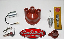 CLASSIC FIAT 500 R 126 IGNITION KIT CONDENSER POINTS ROTOR DISTRIBUTOR CAP SPARK