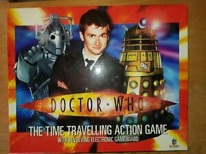 Doctor Who Interactive Electronic Board Game Complete with Light Up Tardis!