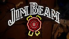 Jim beam neon beer bar sign light mancave Local Pick Up Only