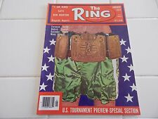 "THE RING  MAGAZINE  ""US TOURNAMENT PREVIEW ISSUE""  1977"