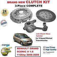 FWD MPV K9K728 RENAULT GRAND SCÉNIC Mk II 1.5dCi Clutch Kit 3pc 101 04//04