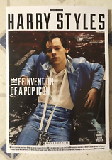 KINGS Of POP HARRY STYLES Magazine REINVENTION Of POP ICON 82 Page FREE POSTER