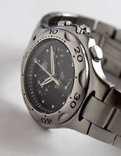 Tag Heuer Men's Watch, CL1110-0 Kirium Chronograph model, Black Face, 39mm