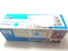 New Genuine HP Color LaserJet C9701A Cyan Color Print Cartridge for HP 1500 2500