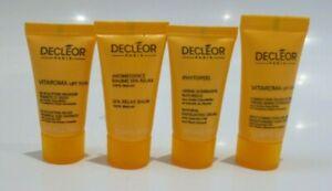 Decleor Minis x4 Vitaroma Face Mask Body Cream Phytopeel Exfoliator & Spa Relax