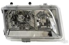 Headlights Lighting Lamp Part LHD Clear Chrome Pair For Mercedes W124 85-93