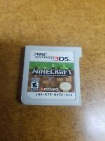 Minecraft: New Nintendo 3DS Edition (Nintendo 3DS, 2017)(Tested)
