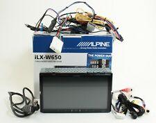"Alpine iLX-W650 7"" In-Dash Mechless Digital Bluetooth Receiver ; 2QDON 466406"