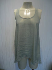 LADIES MINT GREEN SHIMMERY EVENING/PARTY TOP BY TOPSHOP SIZE 6 UK NEW
