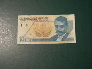 Mexico banknote 10 Pesos 1992 !!!!!