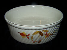 Hall's Cassirole Dish Jewel Tea Autumn Leaf Quality Superior Oven to Table1950's