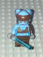 Star Wars LEGO MINIFIG Minifigure sw284 AAYLA SECURA JEDI KNIGHT 8098 RARE!