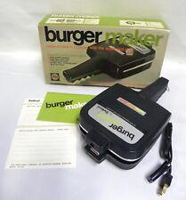 UNUSED Vintage Shetland Model 2001 Burger Press Maker Cooker Grill Japan (A5)