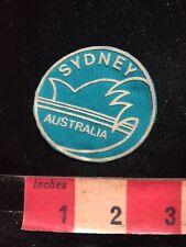 Fairly Thin SYDNEY Australia Patch C87K