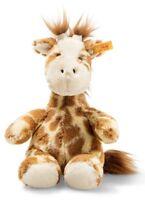 Steiff Girta Giraffe Soft Cuddly Friends washable plush soft toy - 18cm - 068164