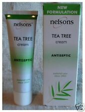 Nelsons Tea Tree Cream 30g. THREE TUBES
