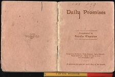 1938 DAILY PROMISES Australian Booklet A PRAYER A DAY For Every Day of the MONTH