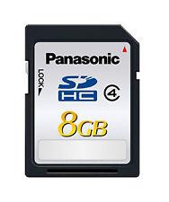 8GB SDHC High Speed Class 6 Memory Card for Panasonic Lumix DMC-FH1S Digital Camera Secure Digital High Capacity 8 G GIG GB 8GIG 8G SD HC Free Card Reader
